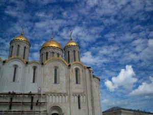 An Orthodox Church in Vladmir, Russia.
