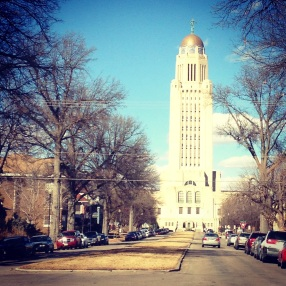 I lived a block from the Nebraska State Capitol.